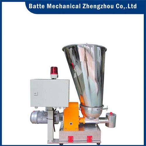 Batte volumetric and gravimetric feeders, low-cost trough screw feeders
