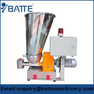 Single screw trace weight loss type feeding machine